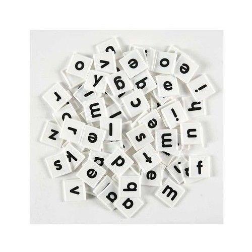 176 Plastic Letter Tiles Spelling Manipulative
