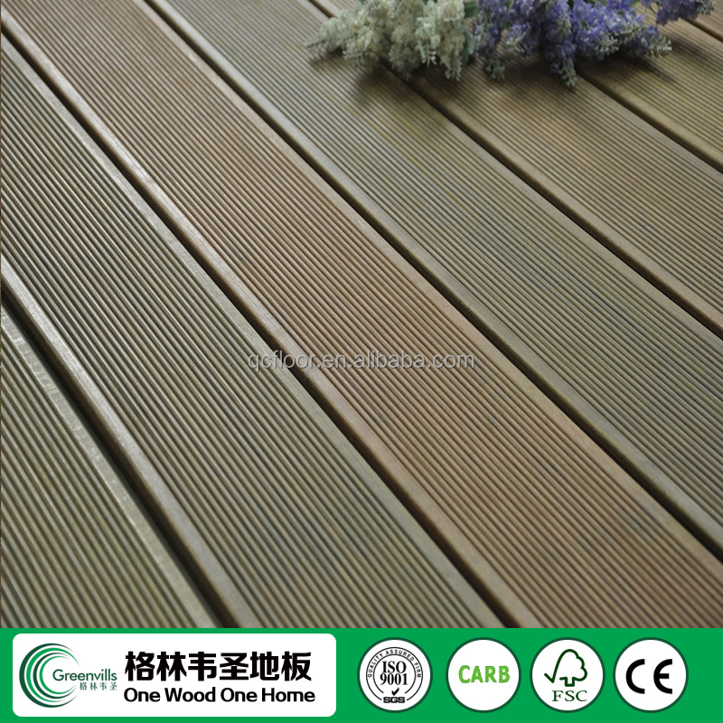 1800x130x18mm untreated ipe wood brazil decking Shanghai