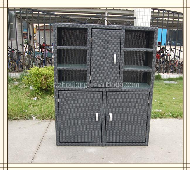 Patio ext rieur armoires ext rieure armoire de rangement for Meuble exterieur metal