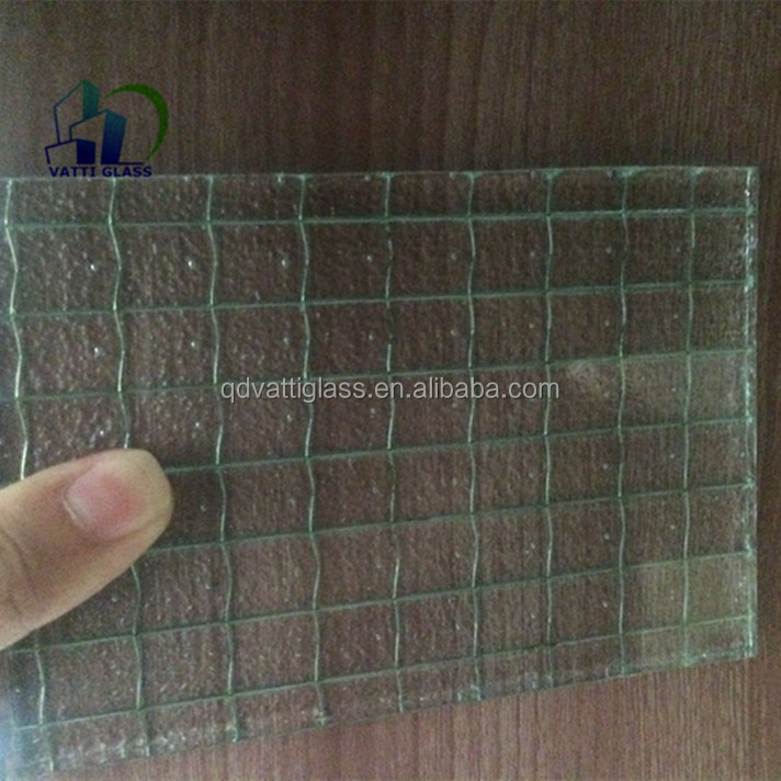 Polished Wired Glass Safety Wire Glass Skylight Wired Glass - Buy ...