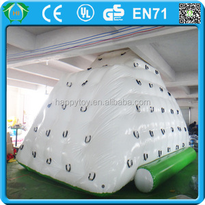 HI CE new large inflatable iceberg water toy,inflatable sports toy wholesale