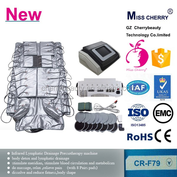 far infrared negative ion mattress body detox and lymphatic drainage device