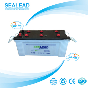 Factory directly dry charged lead battery 12v 170ah car battery truck battery