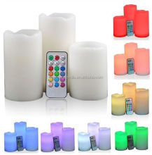 China factory wholesale different party/event led candles/led wax candles,led flameless candles