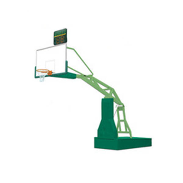 Electric Hydraulic Basketball Stand part of basket ball hoop pole and base