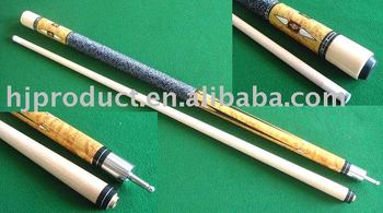 custom design fast sell twopc billiard cue stick quick release joint 57inch 1