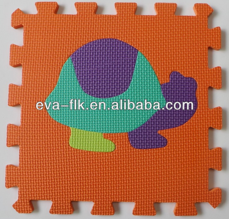 Safe Non-toxic eva baby soft ground mat