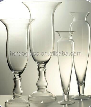 conception spéciale corne fleur rose vase en verre décor à la