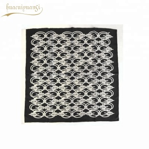 Custom Cotton Women Scarf Fashionable Knot Printing Summer Lady Scarf