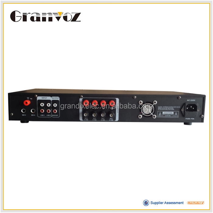 professional 4 channel power amplifier for the meeting room