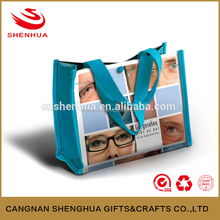 Free Sample, wholesale colorful reusable folding shopping bag, nonwoven foldable shopping bag for promotion