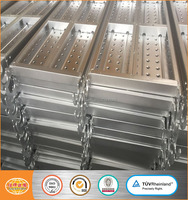 1800mm steel plank with hooks in ring lock scaffolding system