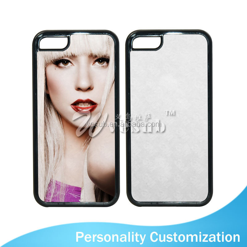 Sublimation Coated DIY 2D shenzhen phone case for iPhone5/5s