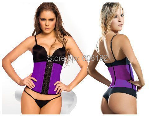 women girdles body shapers latex waist cincher sport waist trainer latex waist training corsets slimming shapewear