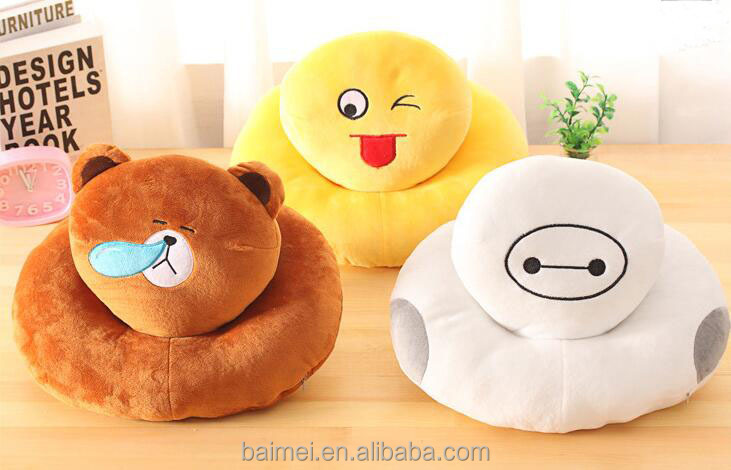 Top Selling New Design Funny Cute PP Cotton Nap pillow For Rest