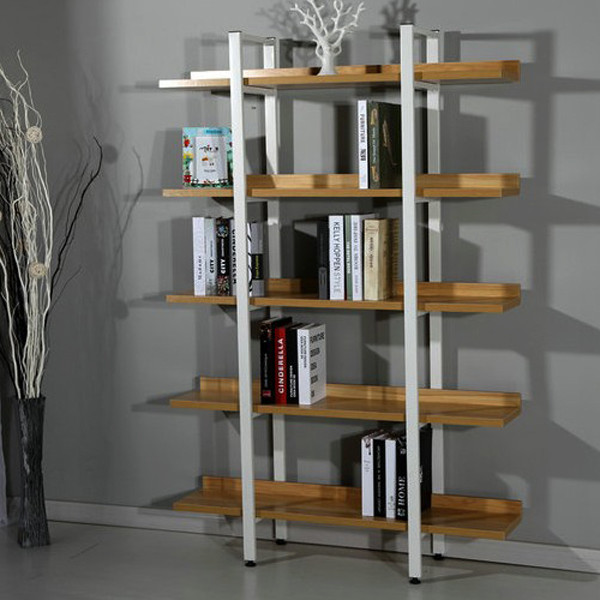 New Design Home Used Stainless Steel Bookshelf Product On Alibaba