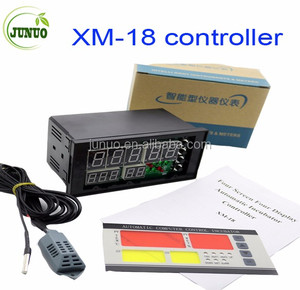 XM-18 Egg Incubator Controller Thermostat Hygrostat Full Automatic Microcomputer Control with Temperature Humidity Sensor Probe