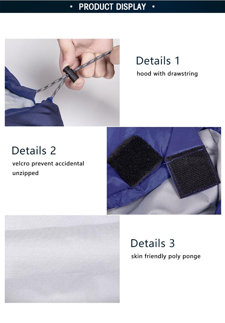 1.68 Kg Froid 0 Degré Bleu Simple Enveloppe Hiver Sac À Dos Compact Lavable Sac De Couchage Léger Buy Sac De Couchage,Sac De Couchage Léger,Sac De