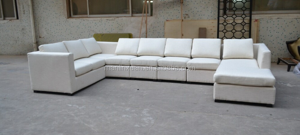 8~10 Seater Sectional Living Room Sofa Set In Linen Fabric Xyn542 - Buy 10  Seater Sofa,Sectional Living Room Sofa,8 Seater Sofa Set Product on  Alibaba.com