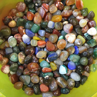 Wholesale Natural Agate Mix Colored Gravel Stones For Vases Decoration