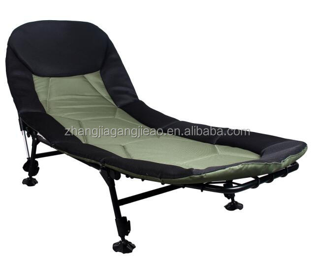 JAT018C cot folding camping bed carp fishing bedchair camp