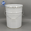 5 Gallon/20 Liter Conical Metal Paint Bucket with Flower Lid and Ring Lock Metal Drum /Barrel/Pail for