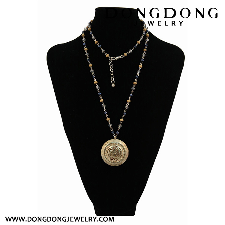 Dongdong new The golden rose long hollow fashion ornaments