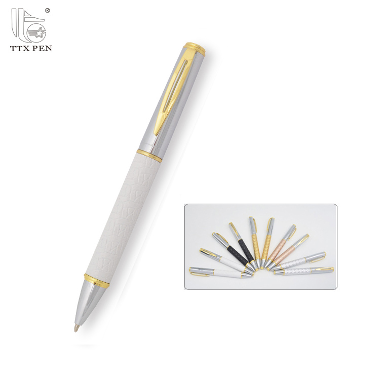 roller pen set with pu leather gift box
