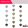 zinc alloy brush nickel cabinet knob