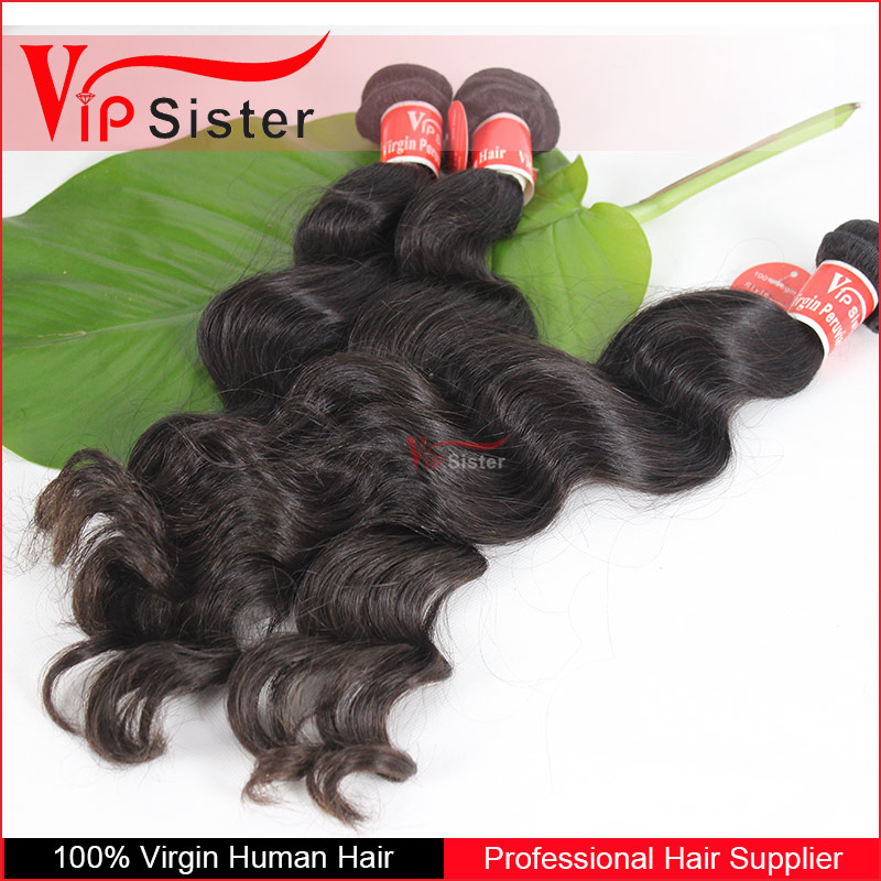 Human Hair Material and Yes Virgin Hair 7A Peruvian virgin hair Full Cuticle weft Italian Yaki Machine Made Weft