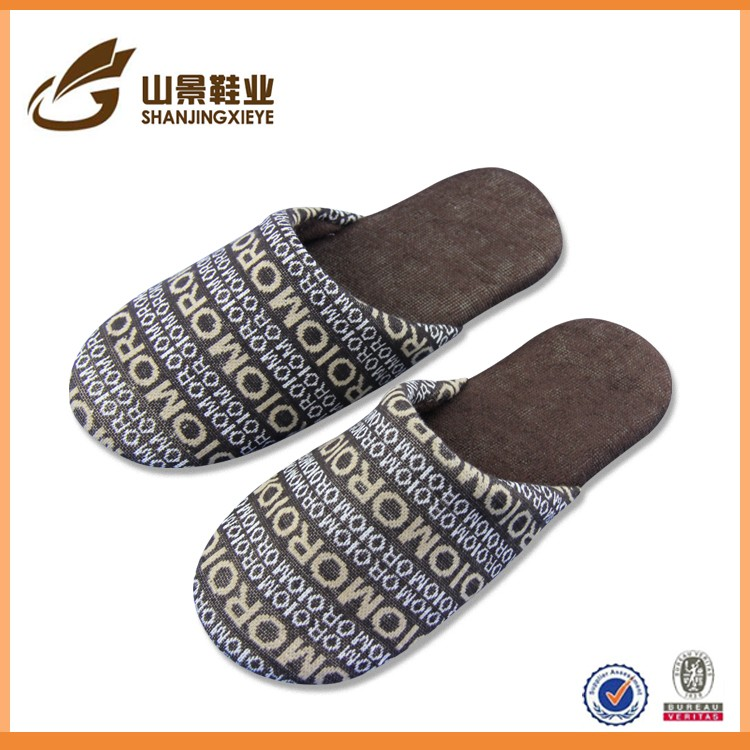 eva promotion airplane slippers hotel cheap personalized slippers