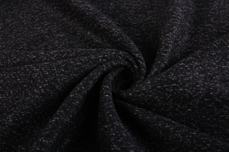 Winter cloth material polyester alpaca wool fabric stock lot