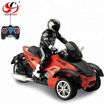 1 10 kinder elektrische motorrad rc spielzeug dreirad. Black Bedroom Furniture Sets. Home Design Ideas