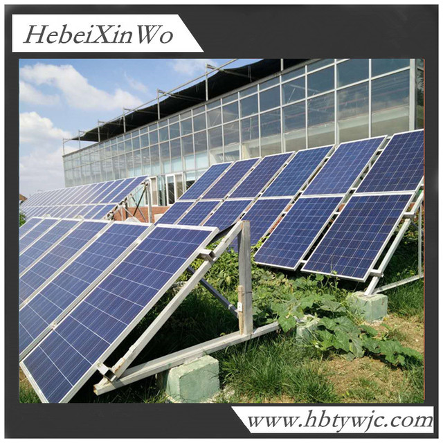 Customized Steel Structure/solar Panel Roof Mounting Brackets