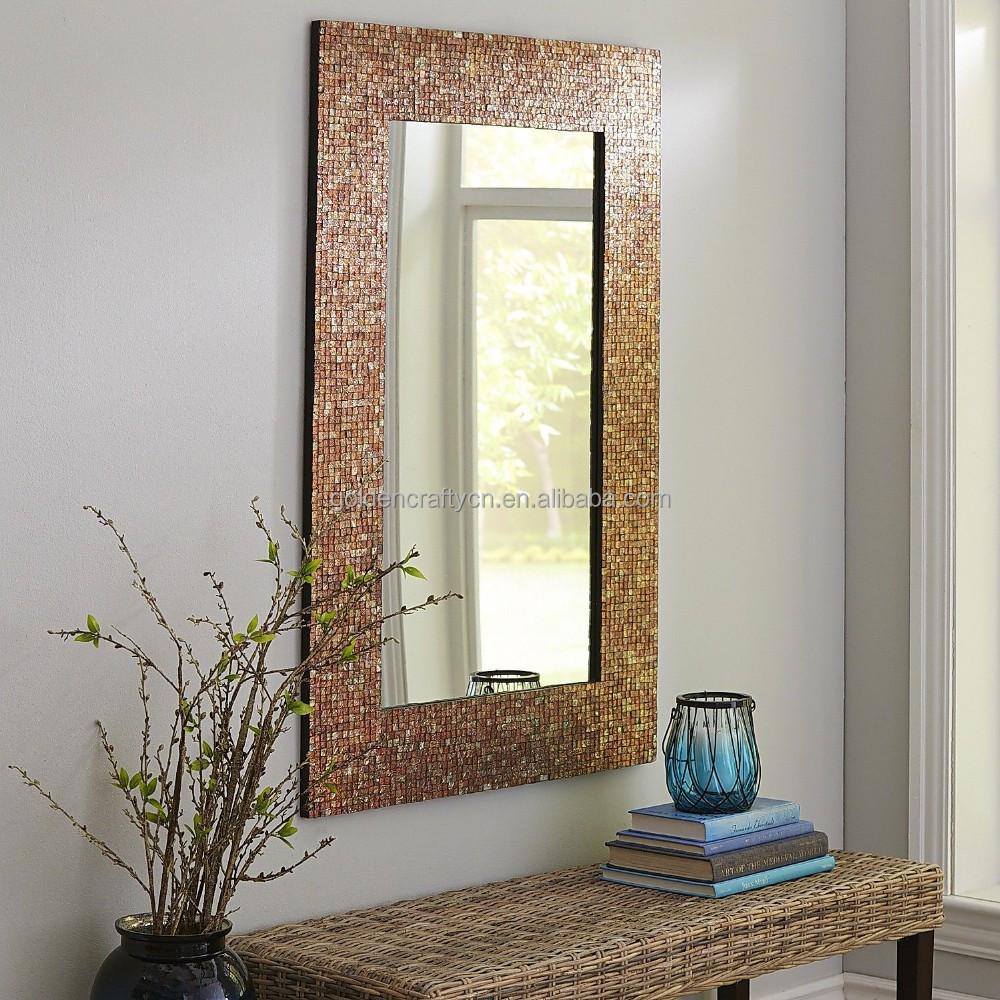 Wall Decor Mosaic Glass Tile Frame Mirror   Buy Wall Decor Mosaic Glass Tile  Frame Mirror Glass Mosaic Frame Mirror Glass Mosaic Tile Grey Mirror  Product on. Wall Decor Mosaic Glass Tile Frame Mirror   Buy Wall Decor Mosaic