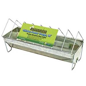 "TROUGH CHICKEN FEEDER 16in ""Ctg: HORSE PRODUCTS/FARM PRODUCTS - FARM PRODUCTS"""