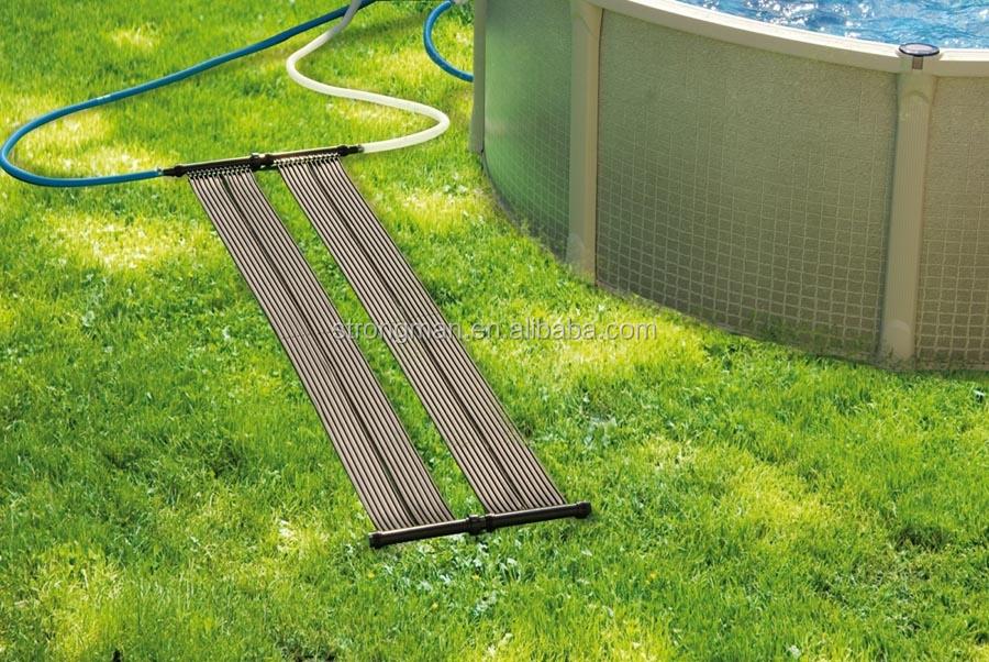 Te negro pvc calentador solar para piscina calentadores de - Calentador de agua para piscinas ...