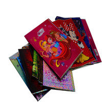 PVC,PP, CPP Clear Vinyl Book Covers, Holographic Book Cover