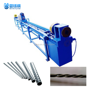 High Quality Low Price Stainless Steel Iron Copper Aluminum Etc Tube Twist Square Drawing Metal Pipe Thread Machine