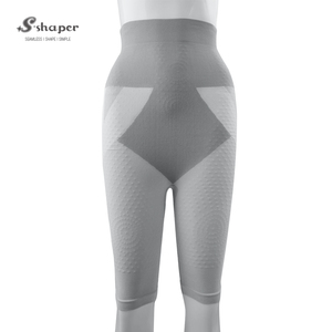 S-SHAPER High Waist Slimming Pants,Tourmaline Pants,Tourmaline Bamboo Shorts