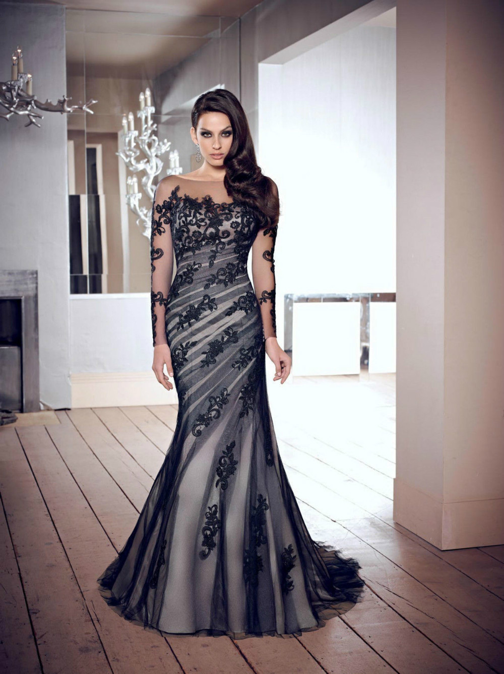 Black Evening Dresses Size 6 - Women\'s Gowns And Formal Dresses