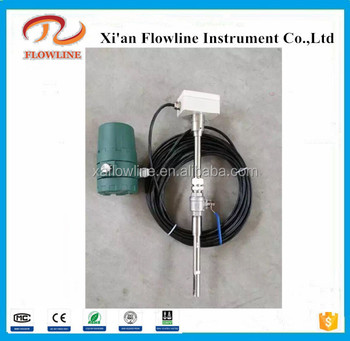 FLN-300 Split type Thermal Gas Mass Flow meter with cable and LCD