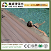 Easy install wpc decking boards eco-friendly WPC floor outdoor wood plastic floor WPC composite decking timber
