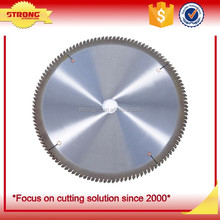 Tungsten carbide steel circular saw blade for aluminum cutting TCT Segmented saw blades for nonferrous metal cutting