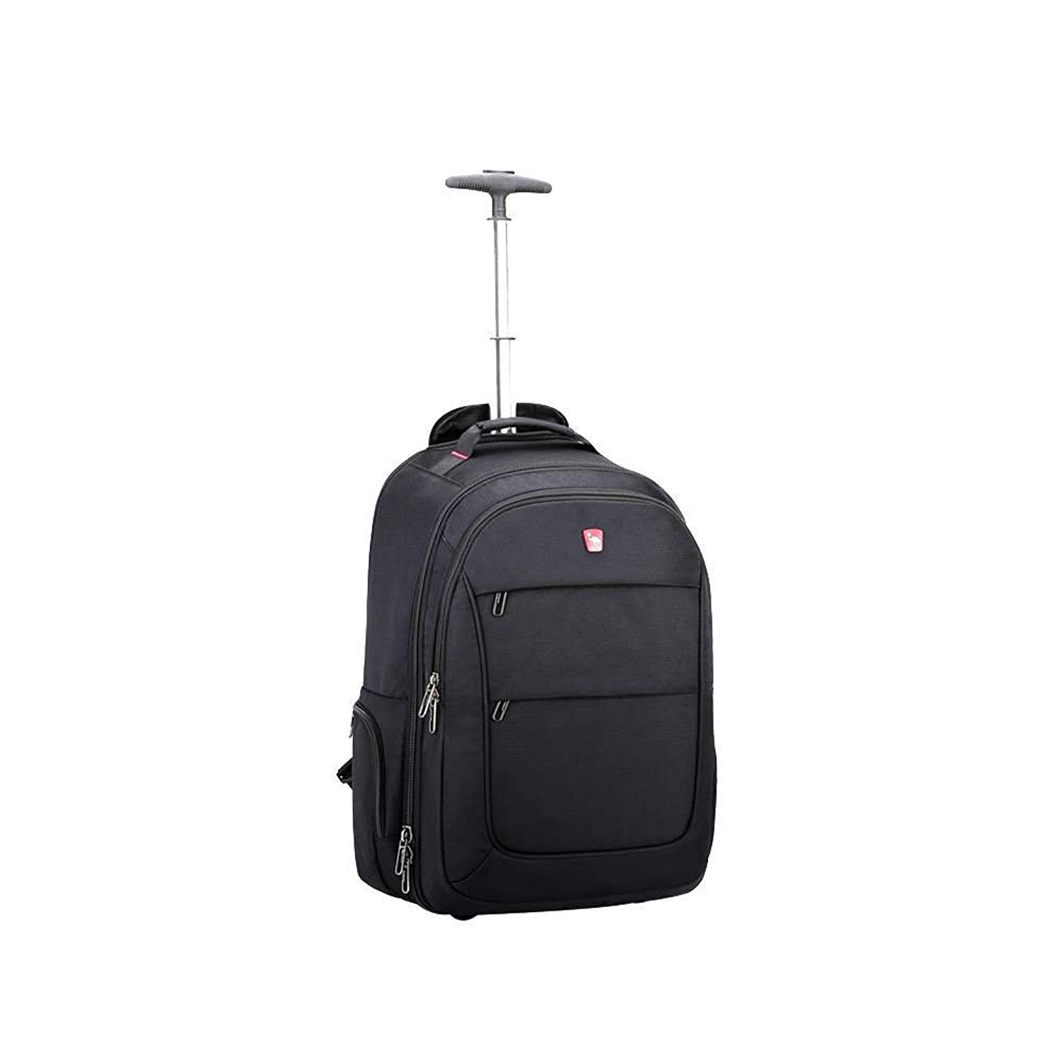f41daaae9 Get Quotations · OIWAS Wheeled Backpack Waterproof Rolling School Pack  Travel Suitcase For Laptop