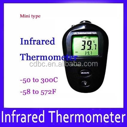 Mini high temperature measure meter Infrared IR Thermometer DT-300 - 50C to 300C