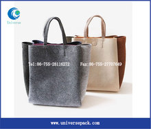 Felt Export Goods Tote Bag Shopping Customized With High Quality Made Bags Wholesale
