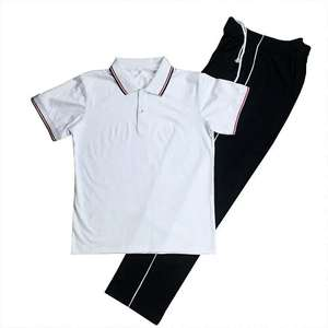 Wholesale fashion knitted primary school uniform designs