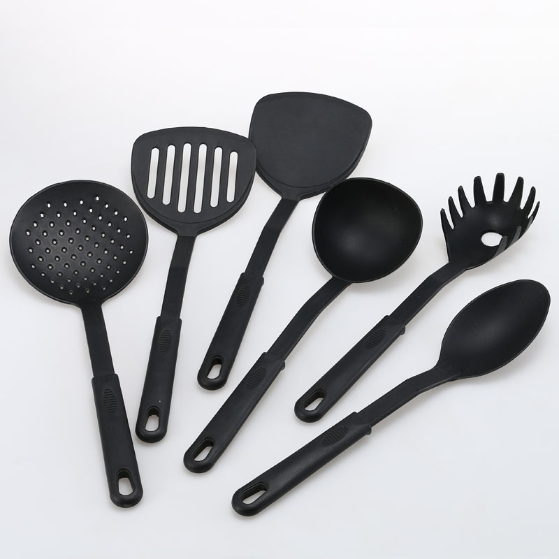 2018 Eco-friendly new and unique design Kitchen Mixing Tools Unique Cooking Tools With Silicone Handle