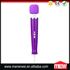 4 Power Speeds & 4 Pulsating Pattern LED Indicator Magic Wand Personal Massager For Women